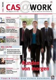 Kunden von morgen Kunden von morgen - CAS Software AG