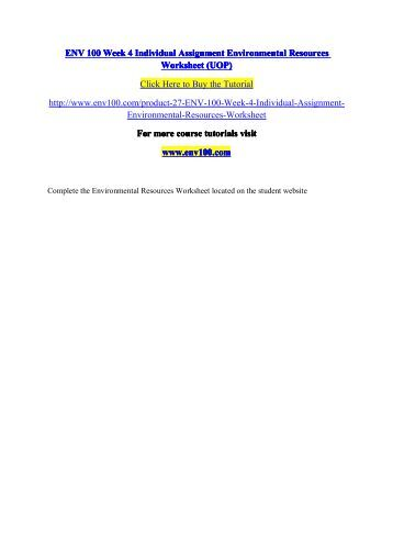 environmental resources worksheet On biological and environmental/resource sciences, geology and earth science ,  the transfer degree worksheet is a two-page condensed version of the.