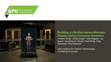Building a Life-Size Automultiscopic Display Using Consumer Hardware