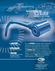 Composite Leaf Springs - Hyperco
