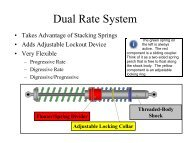 Dual Rate System