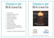 Chemie in der Mikrowelle - Institut Dr. Flad