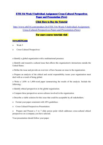 cchu9026 individual essay