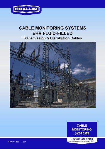 CABLE MONITORING SYSTEMS EHV FLUID-FILLED