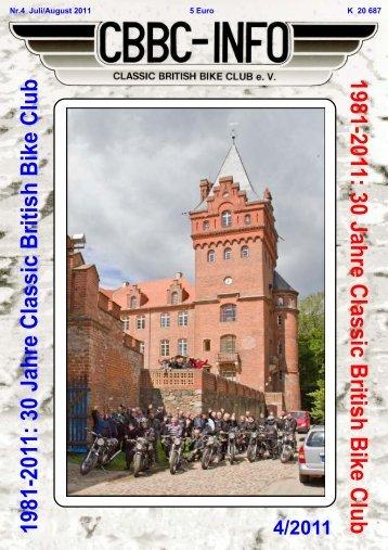 Müns- terland- treffen 2011 - CBBC - Classic British Bike Club