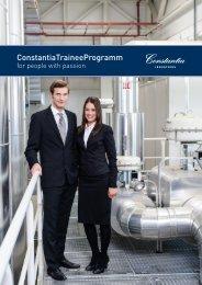 ConstantiaTraineeProgramm - Constantia Industries AG