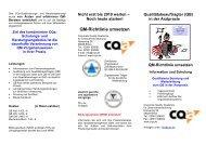 QM-Richtlinie umsetzen - CQa