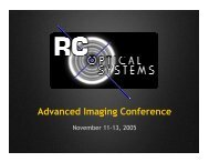 Advanced Imaging Conference