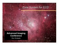 The Zone System - Advanced Imaging Conference