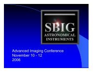 Advanced Imaging Conference November 10 - 12 2006