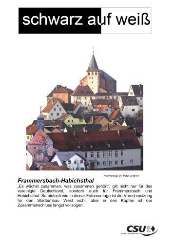 Frammersbach-Habichsthal - CSU