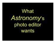 Astronomy's