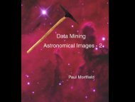Data Mining Astronomical Images - 2