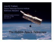 The Hubble Space Telescope The Hubble Space Telescope
