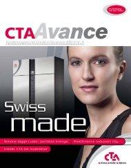 Kundenmagazin CTA Avance Ausgabe Nr. 4 November 2010