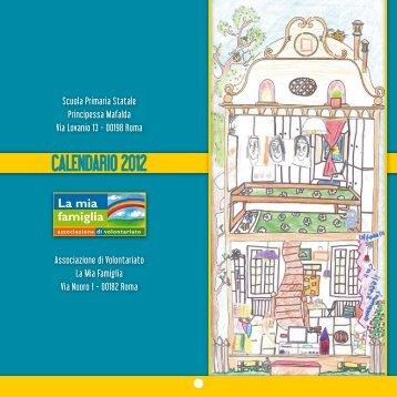 """CALeNDARIO 2012 - SCUOLA PRIMARIA """"PRINCIPESSA MAFALDA"""""""