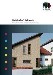 Meldorfer® Exklusiv - Deutsche Amphibolin Werke -  Caparol