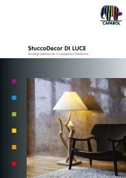 StuccoDecor DI LUCE - Deutsche Amphibolin Werke -  Caparol