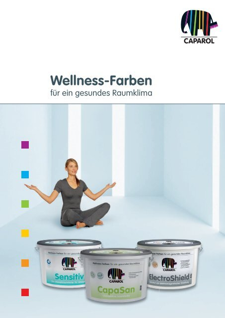 Wellness-Farben - Deutsche Amphibolin Werke -  Caparol