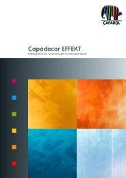 Capadecor EFFEKT - Deutsche Amphibolin Werke -  Caparol