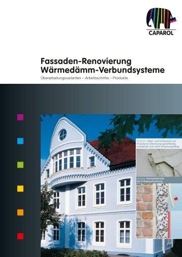 Fassaden-Renovierung Wärmedämm-Verbundsysteme