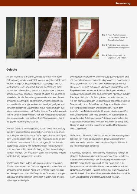 Renovierung - Deutsche Amphibolin Werke -  Caparol