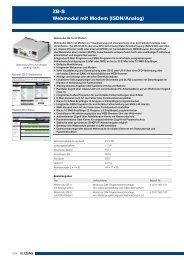 ZB-S Webmodul mit Modem (ISDN/Analog) - CEAG