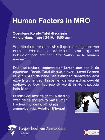 Openbare Ronde Tafel discussie Amsterdam, 1 april 2010 ... - HUFAG