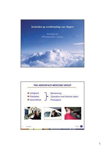 Invloeden op werkbelasting van vliegers