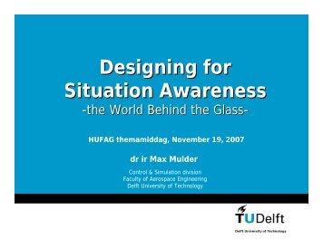 Designing for Situation Awareness