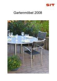 Gartenmöbel 2008