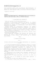 Decreto Legge n. 76/2013 - Ministero del Lavoro e delle Politiche ...