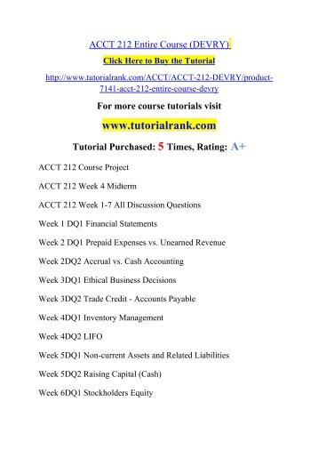 acct 212 course project
