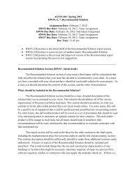 HW#5: Recommended Solution - Munster.tamu.edu