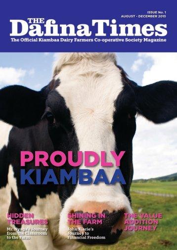 PROUDLY KIAMBAA