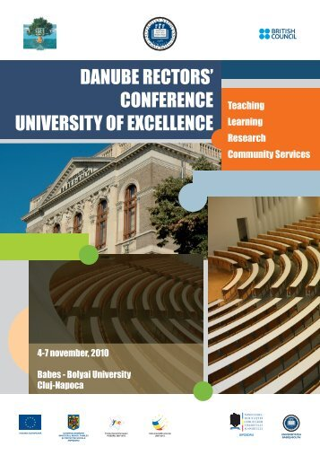 DANUBE RECTORS' CONFERENCE UNIVERSITY OF EXCELLENCE