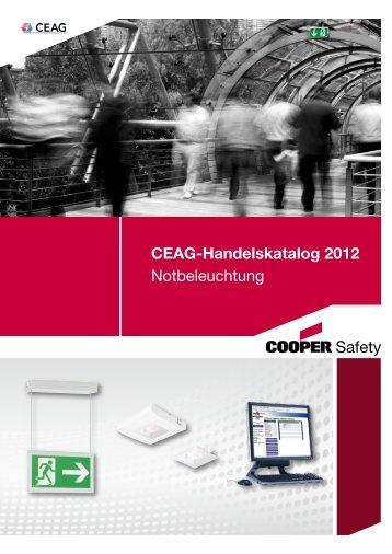 CEAG-Handelskatalog 2012 Notbeleuchtung