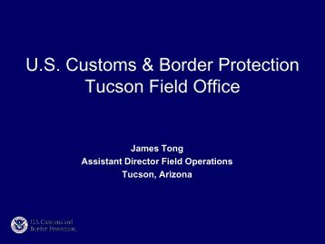 Tucson Field Office
