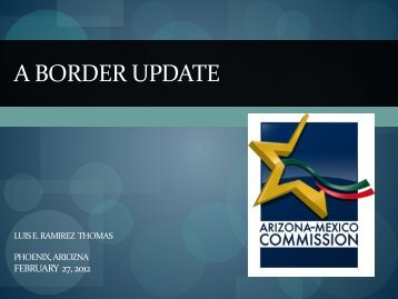 A Border Update by Luis E. Ramirez Thomas
