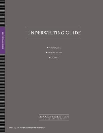 Underwriting