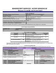 SeniorScript-NCPDP Version D0 Payer Sheet - Catamaran