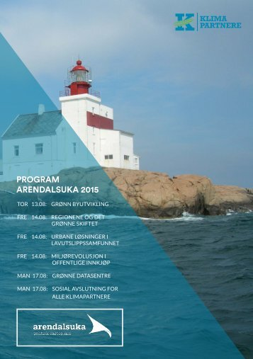 PROGRAM ARENDALSUKA 2015