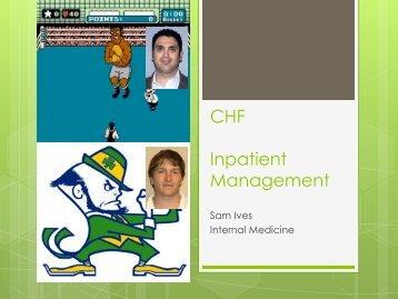 Inpatient Management