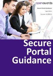 Portal Guidance