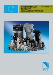 COMPLEMENTARY PRODUCTS AND ASSEMBLY FITTINGS