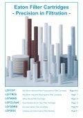 Filter Cartridges Cartridge Filter Housings - Page 3