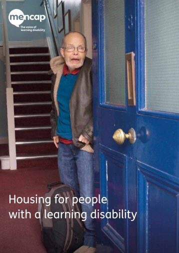 with a learning disability
