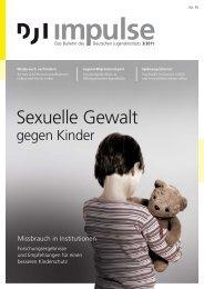 Sexuelle Gewalt gegen Kinder - Deutsches Jugendinstitut e.V.