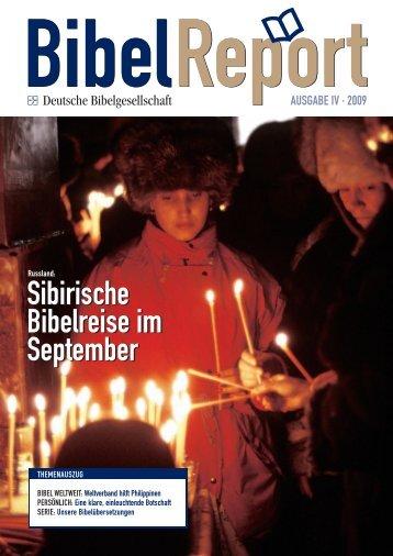 Sibirische Bibelreise im September Sibirische Bibelreise im ...