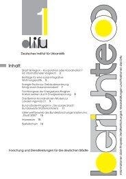 """Bund-Länder-Programm """"Soziale Stadt"""" - Difu"""